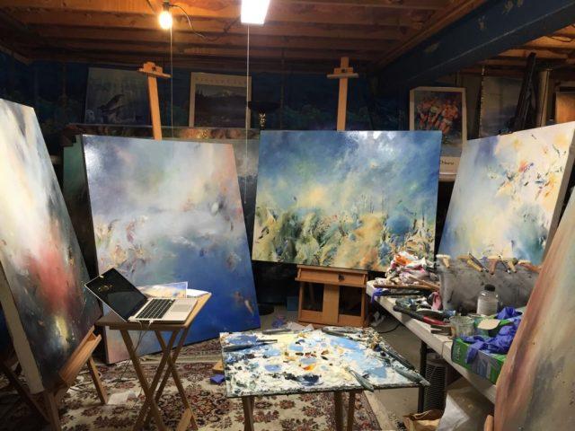 Creative Command: Samantha Kaplan, Abstract Painter