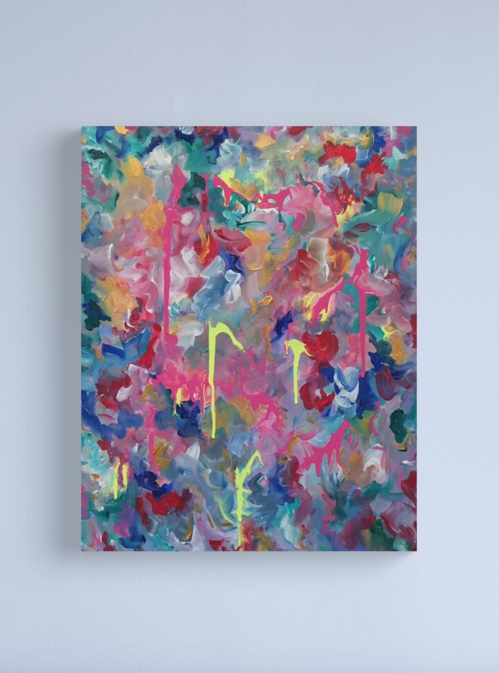 Shop Violet Roots - Abstract Painting - Wings