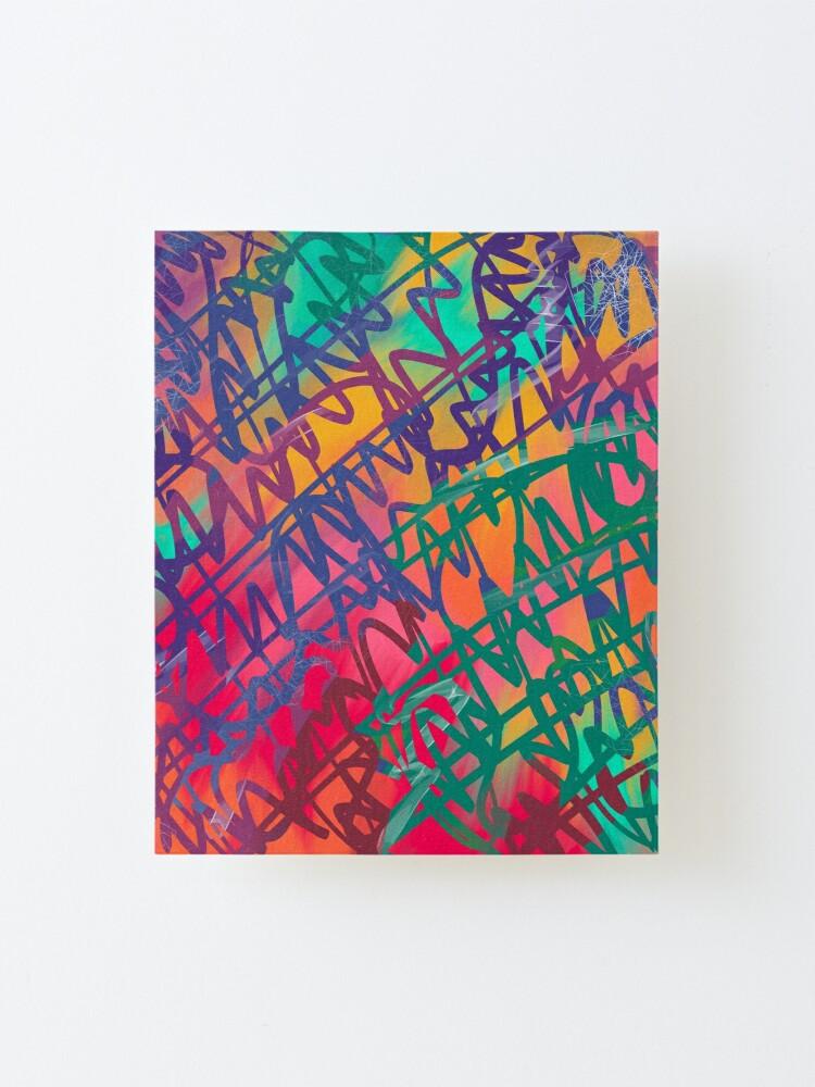 Portfolio - Violet Roots - Abstract Painting - Zimzalabim