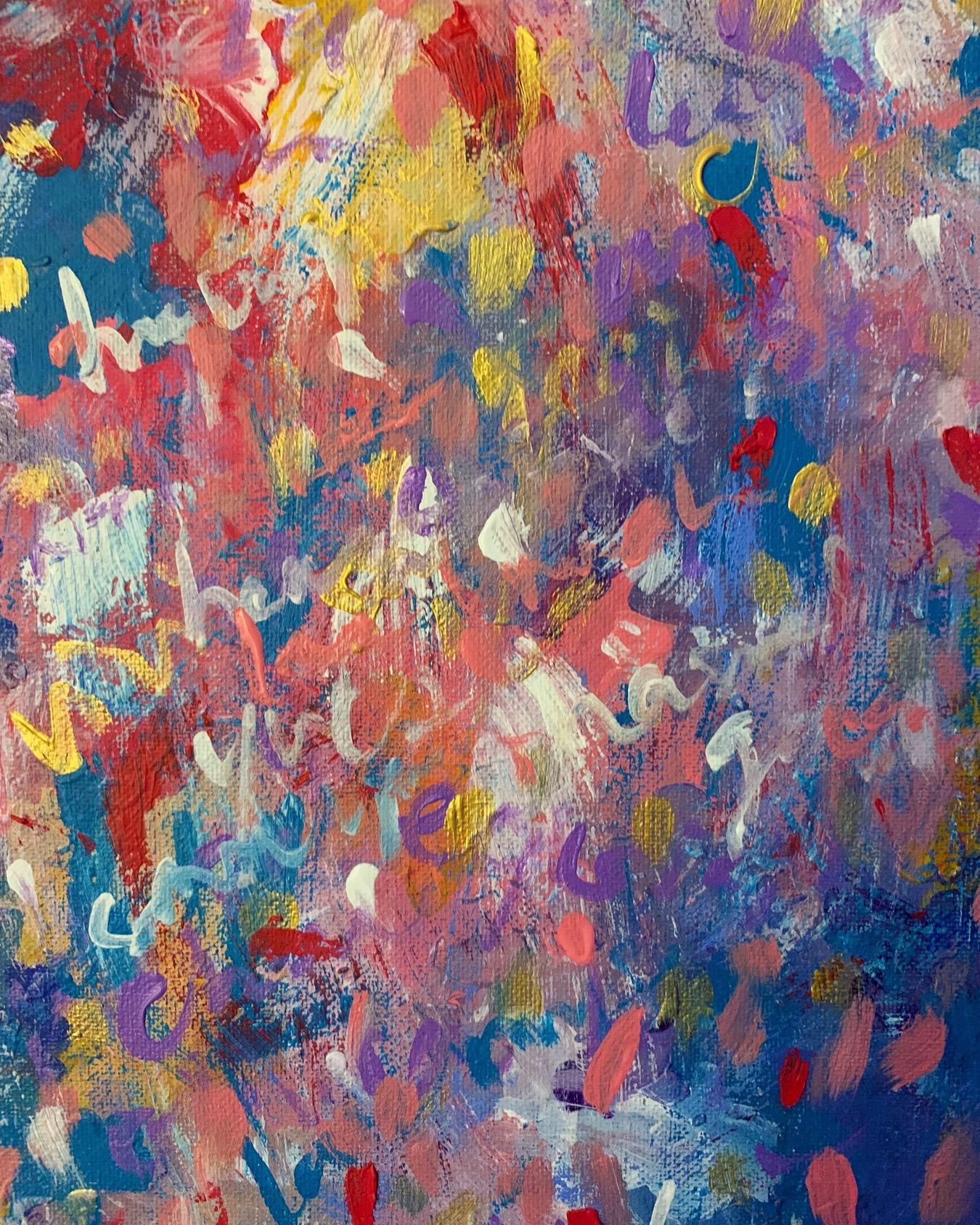 Portfolio - Violet Roots - Abstract Painting - Deja Vu
