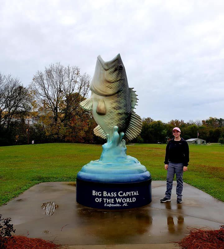 Big Bass Capital of the World, Eufaula, Alabama
