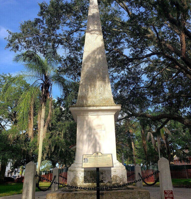 The Last Constitution Monument, St. Augustine, Florida