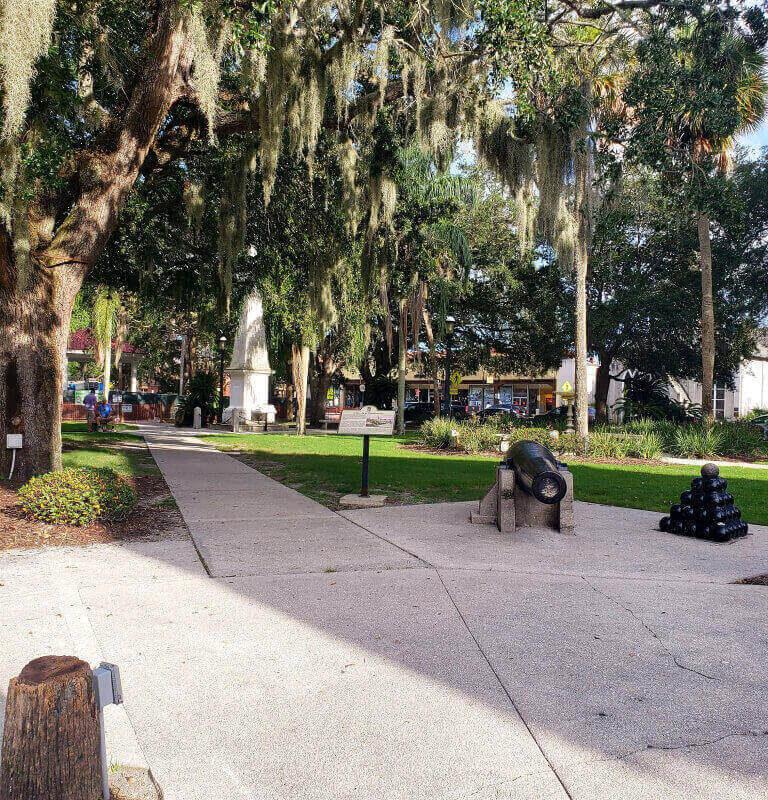 Plaza de la Constitution, St. Augustine, FL