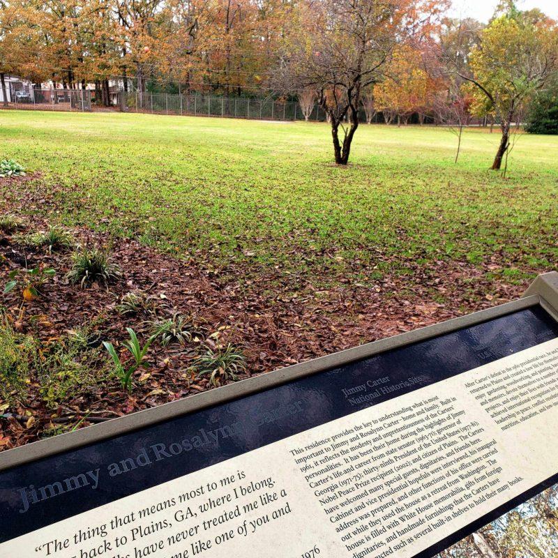 Home of President Carter, Plains, Georgia