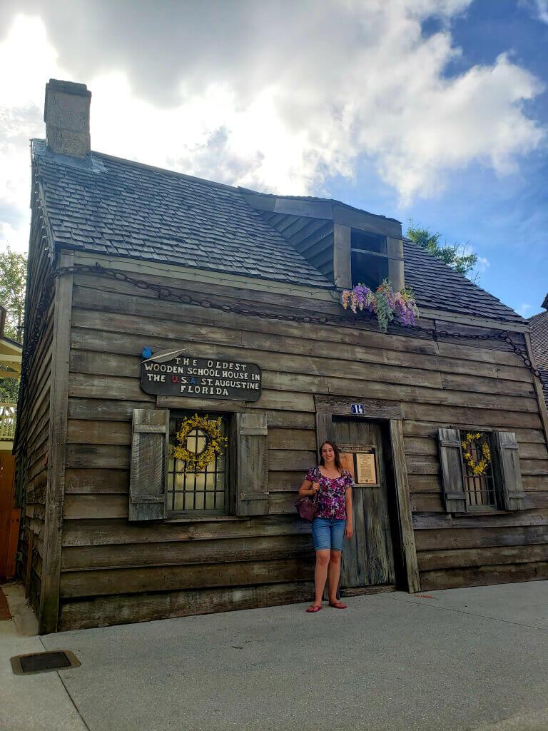 Wooden School House, St. Augustine, FL