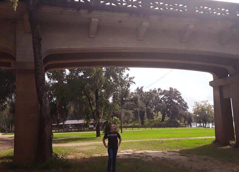Violet Sky at Victory Bridge, Chattahoochee, Florida