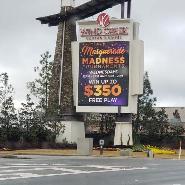 Wind Creek Casino, Atmore, Alabama