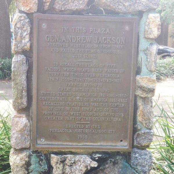 Andrew Jackson Statue, Pensacola, Florida