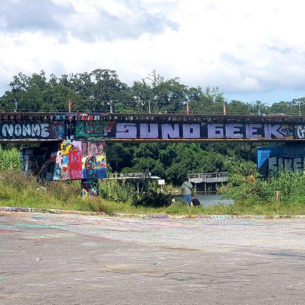 Graffiti Bridge, Pensacola, Florida