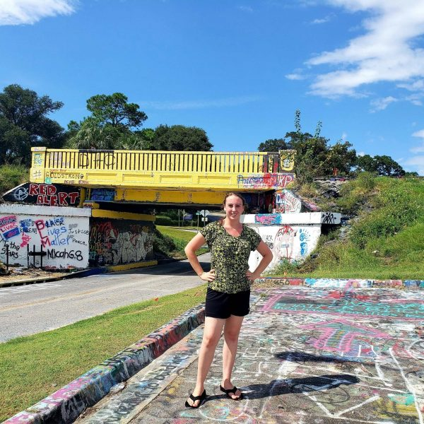 Violet Sky at the Graffiti Bridge, Pensacola, Florida