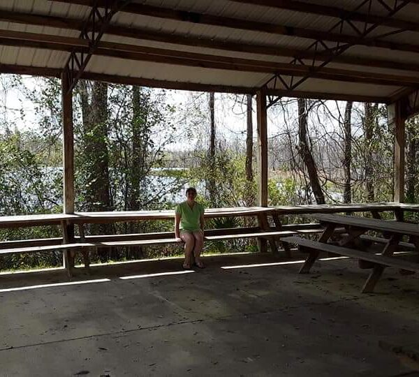 Violet Sky at Litard Log Lake, Washington County, Florida