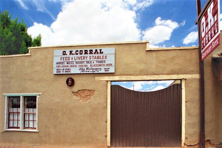 OK Corral, Tombstone, Arizona (Photo Credit: Wikipedia)