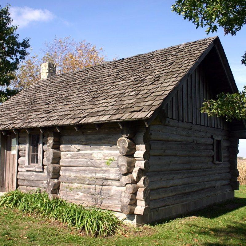 Little House Wayside Cabin, Pepin, Wisconsin (Photo Credit: Wikipedia Public Domain)
