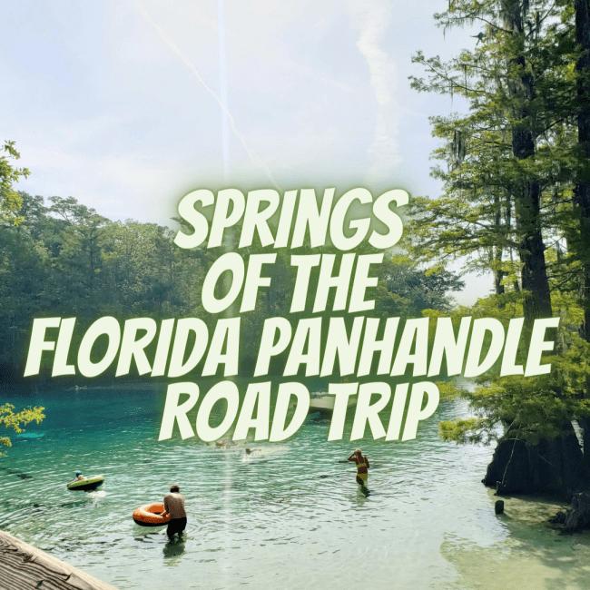 Springs of the Florida Panhandle Road Trip