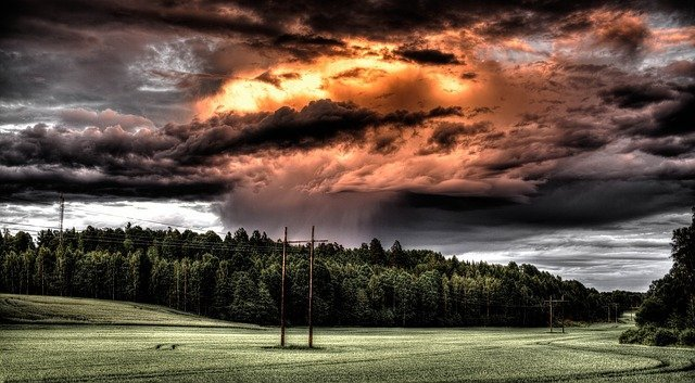 Rainstorm (Photo Credit: Pixabay)