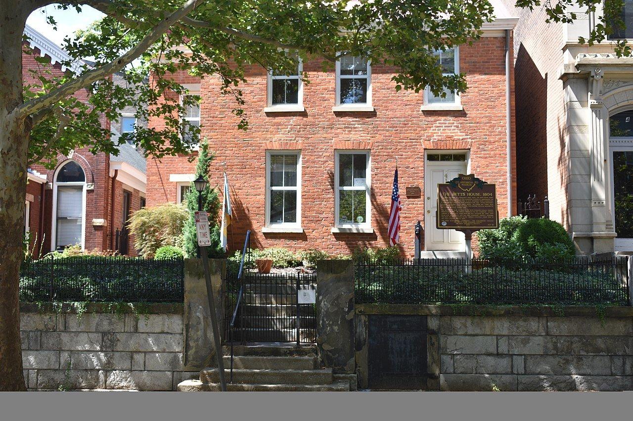 Betts House, Cincinnati, Ohio (Photo Credit: Wikipedia)
