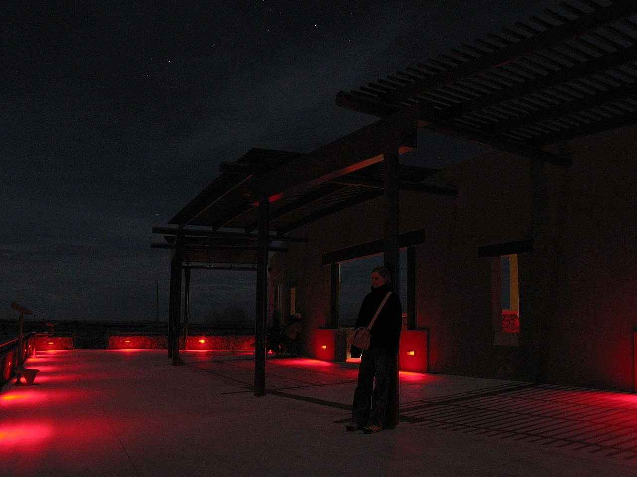 Marfa Lights Viewing Platform, Marfa, Texas (Photo Credit: Wikipedia)
