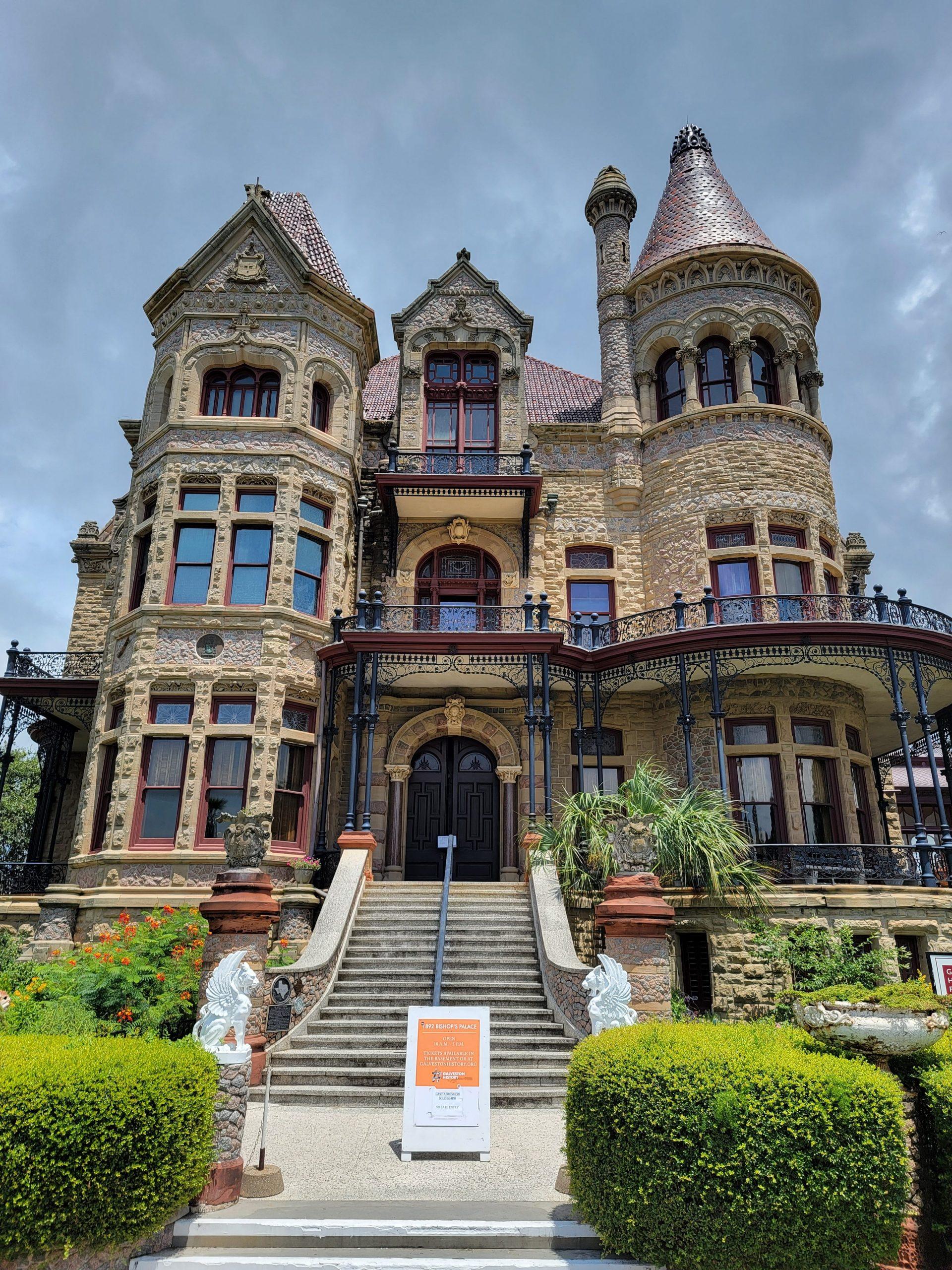 Bishop's Palace, Galveston, Texas (Photo Credit: Violet Sky Adventures)