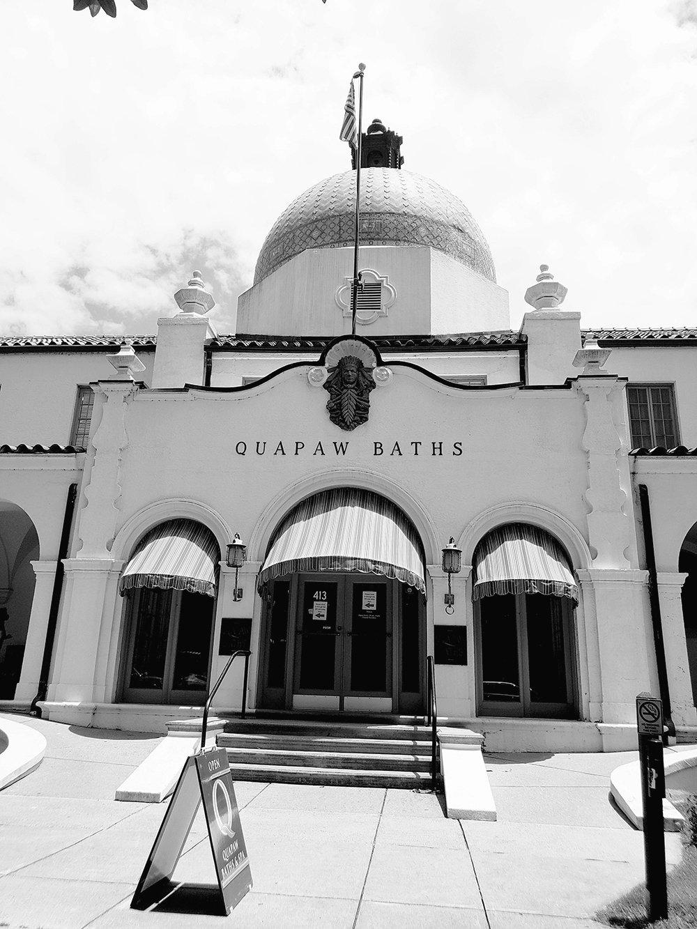 Quapaw Bathhouse, Hot Springs, Arkansas (Photo Credit: Violet Sky)