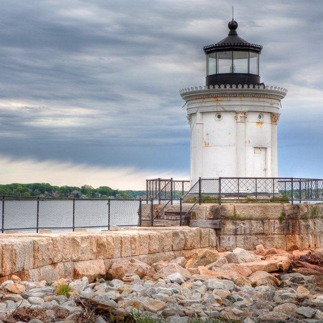 Portland Breakwater Lighthouse, Portland, Maine (Photo Credit: Wikipedia)