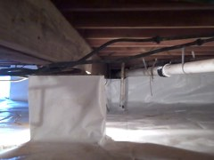 Crawl space - after