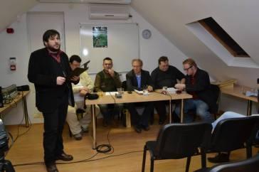 Zajlik a Netidők Aszaltársaság beszélgetése a Finta Múzeumban