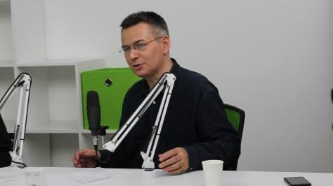 A műsorvezető: Szilágyi Árpád. Fotó: Nemes Cilla