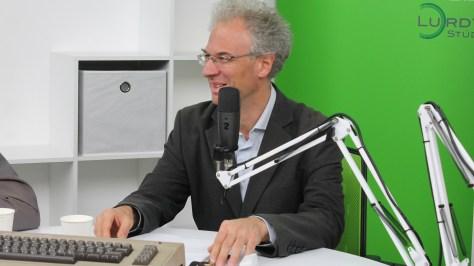 Bódi Zoltán netnyelvész. Fotó: nemes Ilona