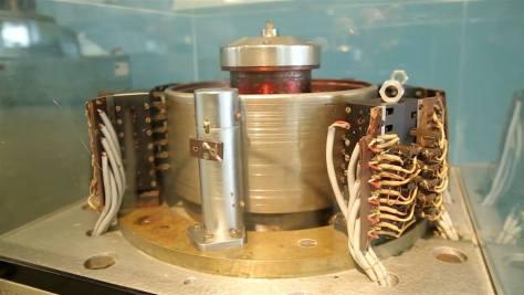 Dobmemória az M3-as számítógépből - ennek fejlesztésében komoly szerepet vállalt Kovács Győző. Forrás: A jövő múltja c. kiállítás