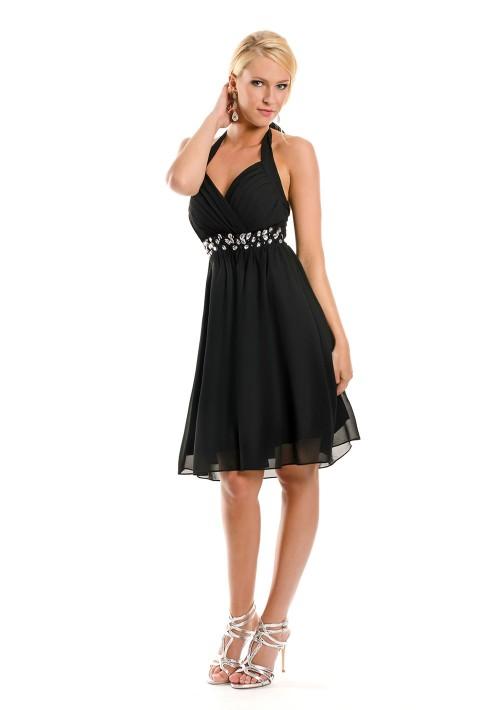 Cocktailkleid in Schwarz  tolle Abendkleider von VIP Dress