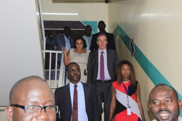 D-Media : L'ambassadeur de France se rend chez Bougane