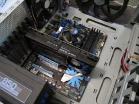 The Beast (EVGA GTX 470) Installed