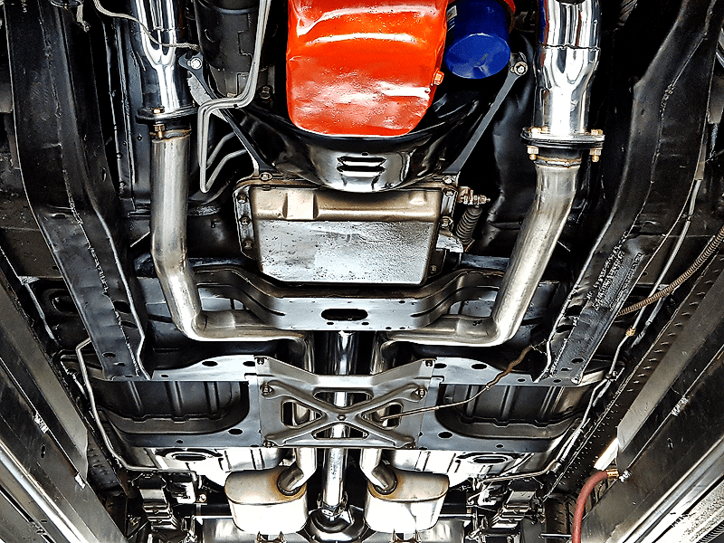 what is a true dual exhaust system