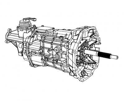 2010 Dodge Viper SRT10 TR6060 6-Speed Transmission