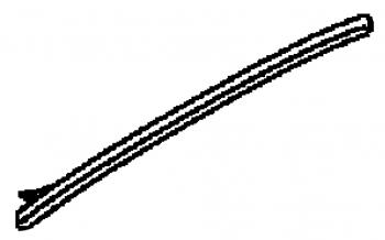 008; 1996-2002 Dodge Viper Fascia Bumper to Hood Seal