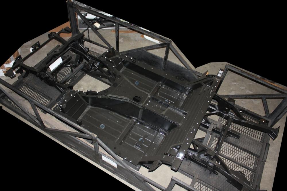 009 2003 2010 Dodge Viper SRT10 Complete Frame