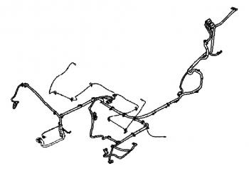 005; 2008-2010 Dodge Viper Main Body Wiring Harness