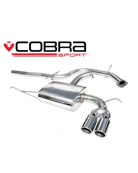 Audi A3 (8P) 03-12 140bhp 2.0 TDI 3door Cobra Cat Back