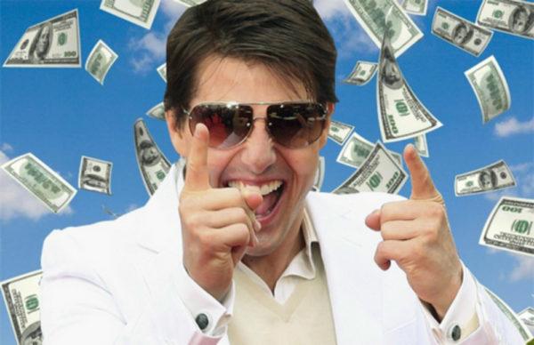 Tom Cruise Money