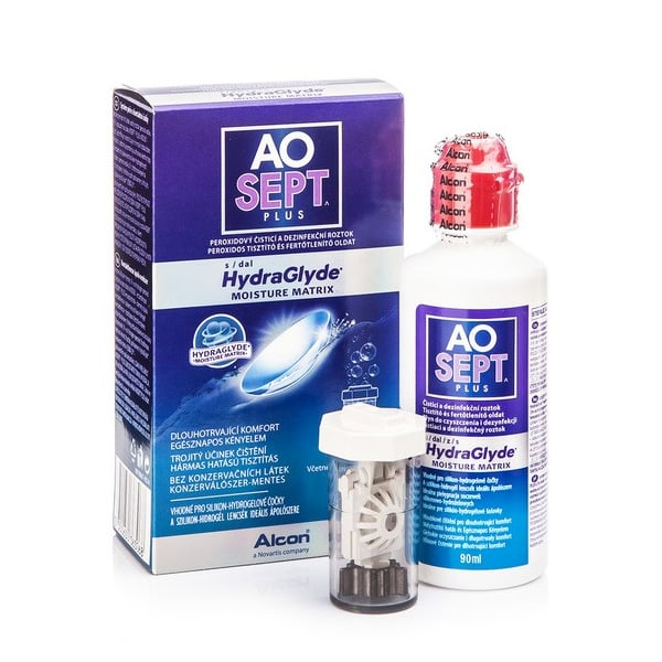 Aosept Plus Hydraglyde Travel Kit 90ml