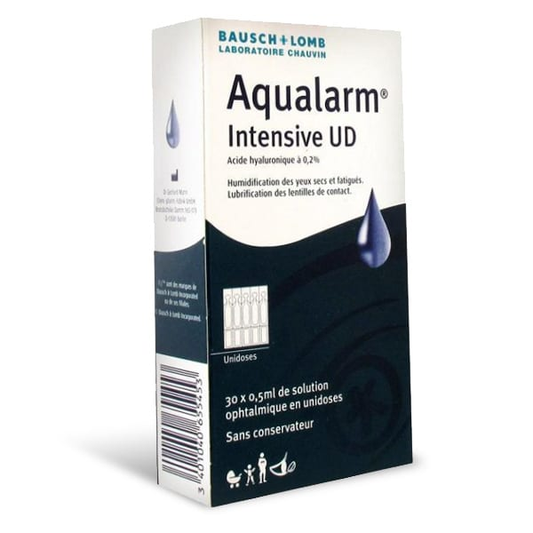 Aqualarm intensive UD 30x0.5 ml