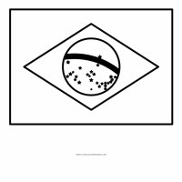 brazil flag png   Brazil Flag Coloring Page   1180540 ...