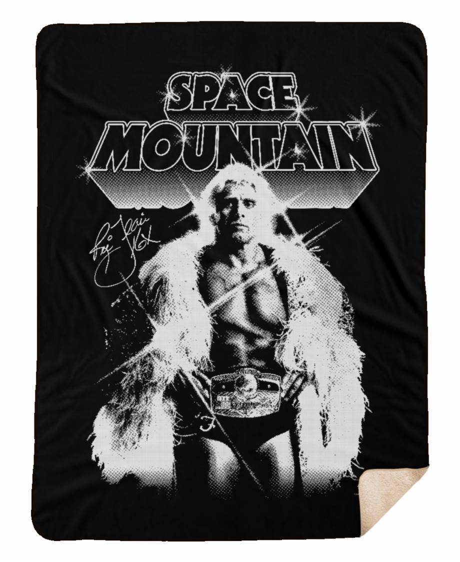large space mountain sherpa blanket