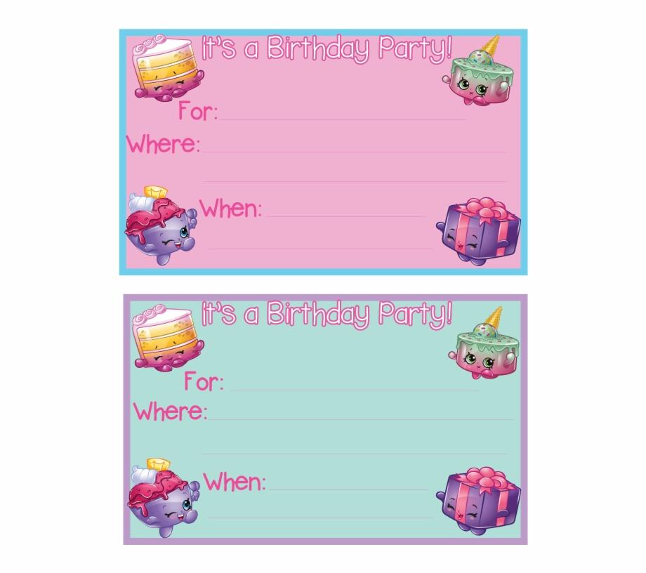 shopkins party invitation template free