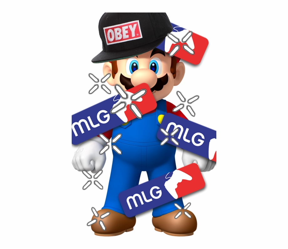 mlg sticker super mario