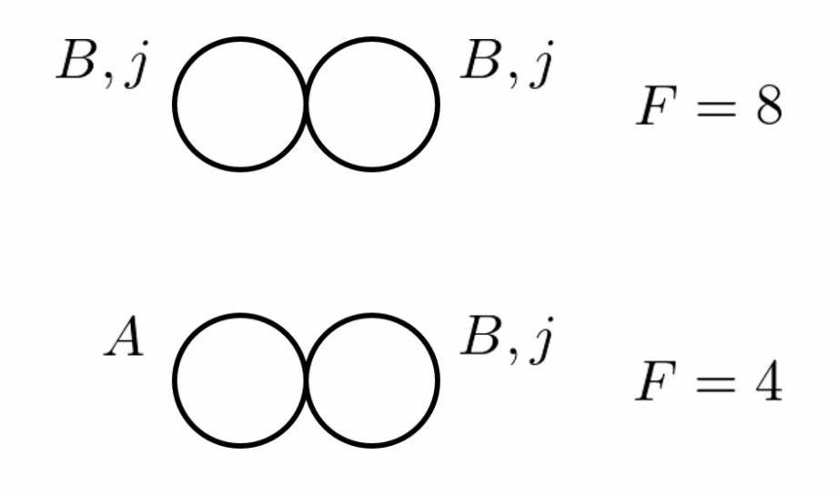 Examples Of Feynman Diagrams For The Evaluation Of