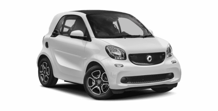 New 2019 Smart Smart Eq Eq Fortwo Coupe Mercedes Smart Car 2019 Transparent Png Download 3753795 Vippng