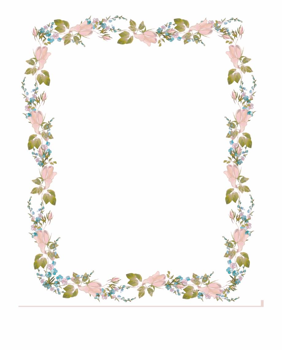 wedding invitation border design png