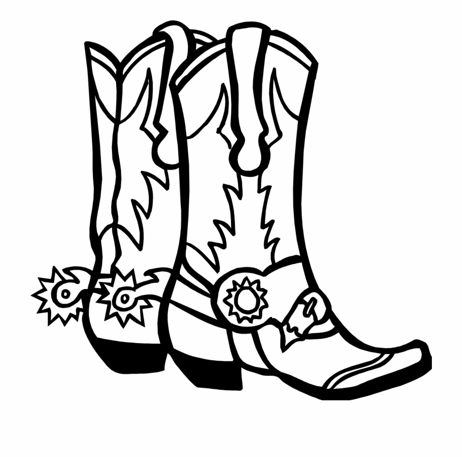 Vector Freeuse Library Cowboy Coloring Page Free Pages Go Texan Day 2018 Transparent Png Download 635148 Vippng