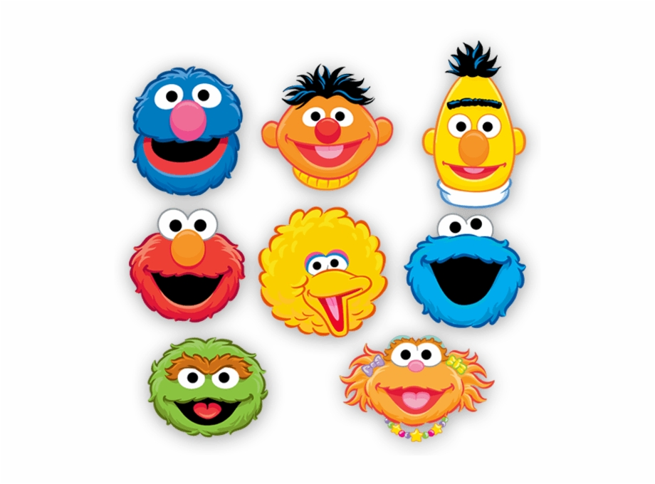 Sesame Street Png Transparent Background Sesame Street Characters Printable Transparent Png Download 677278 Vippng